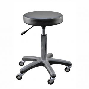 beautician black stool