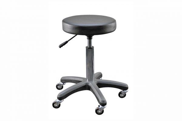 beautician black stool
