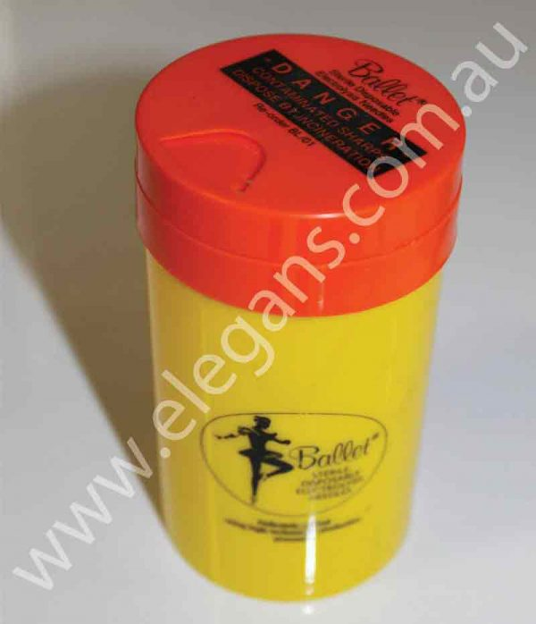 sharps needle container